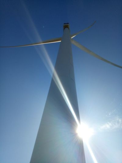 wind mill close up.. @ bangui, ilocos norte, natural view..