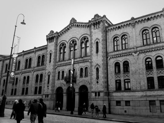 blackandwhite in Oslo by MelB