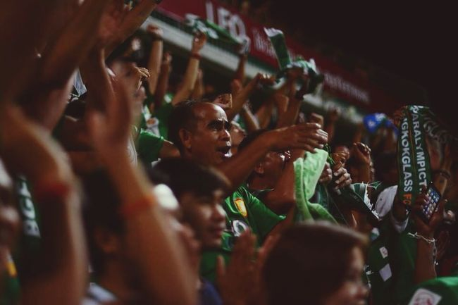 Love Photo Bangkokglassfc Goal Smile Game Fans