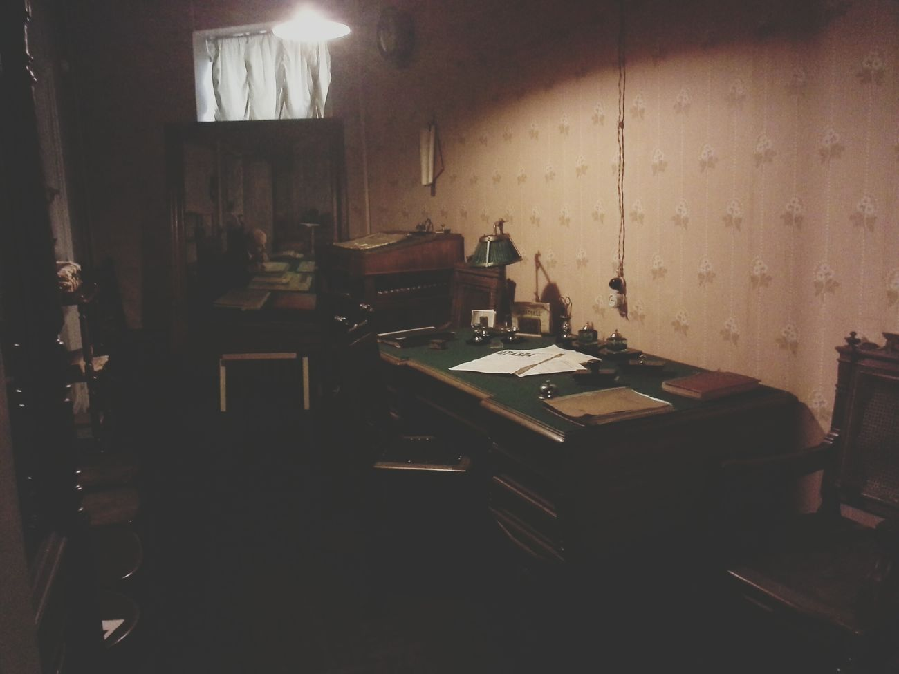 уютный кабинет)