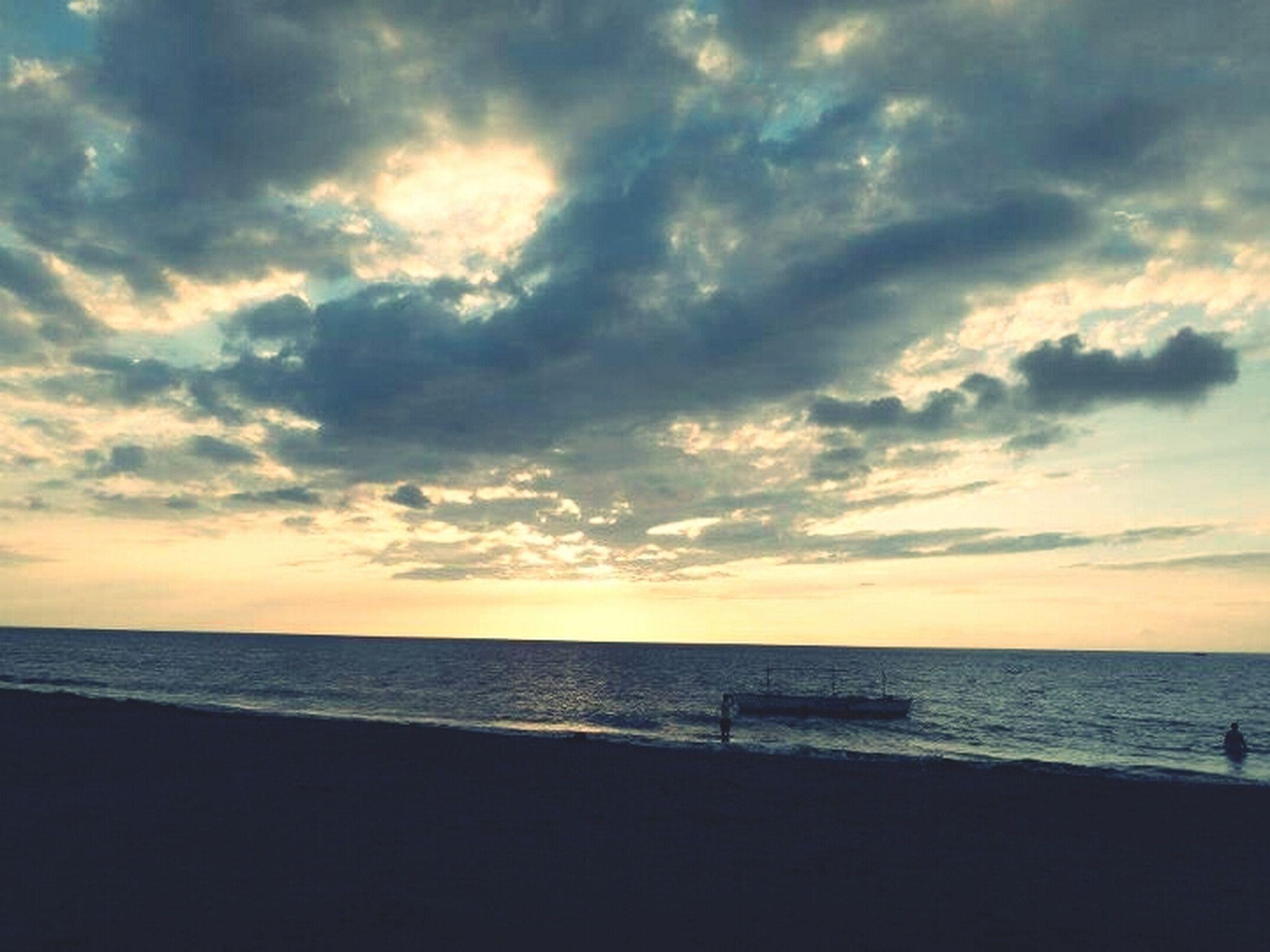 Beach Sunset Sky Philippines Potipot