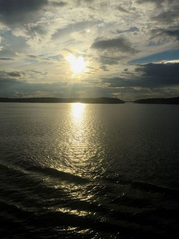 Sun, clouds, sea and land. Sun Sea Lovely Weather Quality Time Water_collection Water