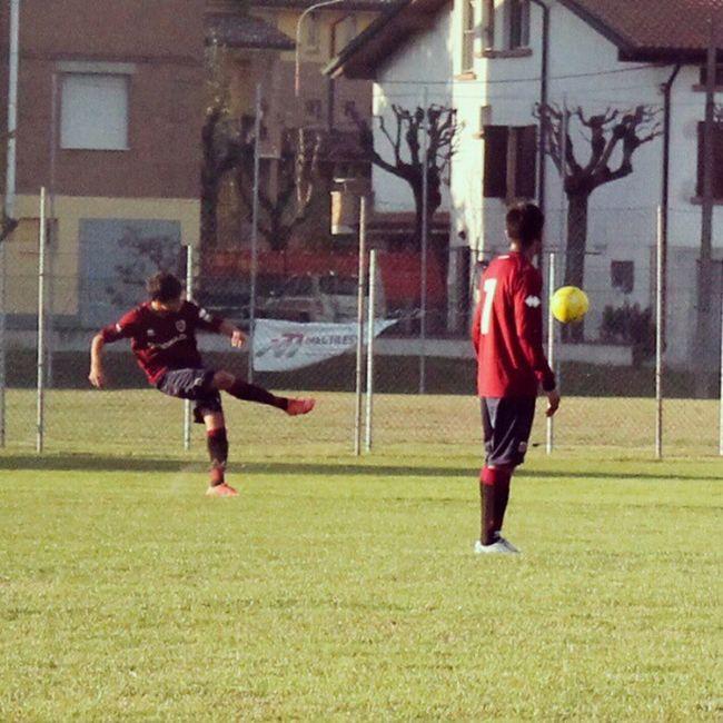Reggiana Calcio Tiro Di Punizione Andrea Lamia