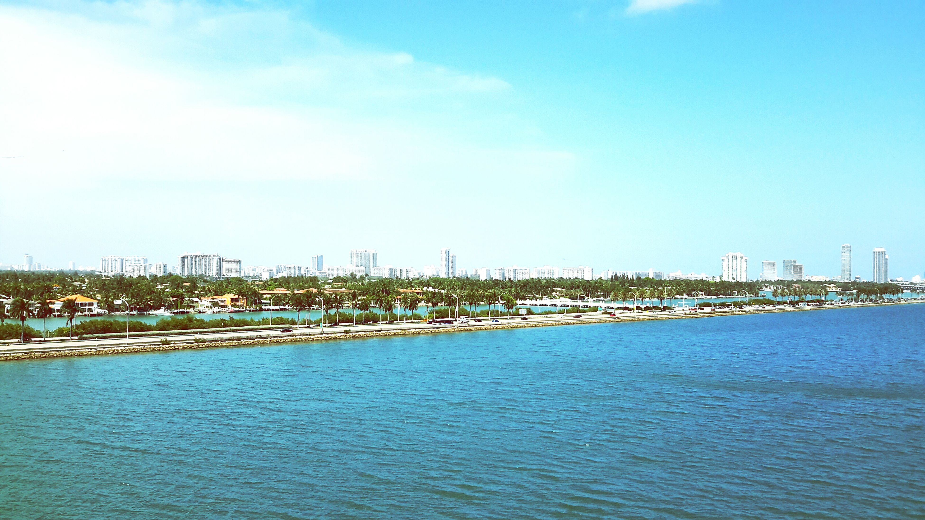 Another shot of my view. Nice to see calm skies and flowing water! Miami, FL Carnival Breeze Carnival Cruise Vacation Summer 2015 Life Journey Enjoy what you have!