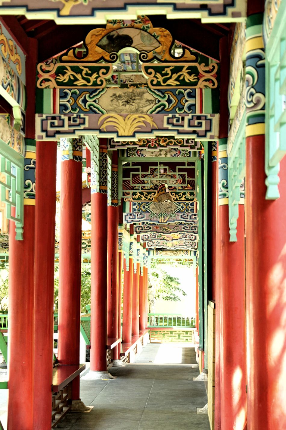 Architecture Built Structure China Building China Garden China Style No People Place Of Worship Travel Destinations