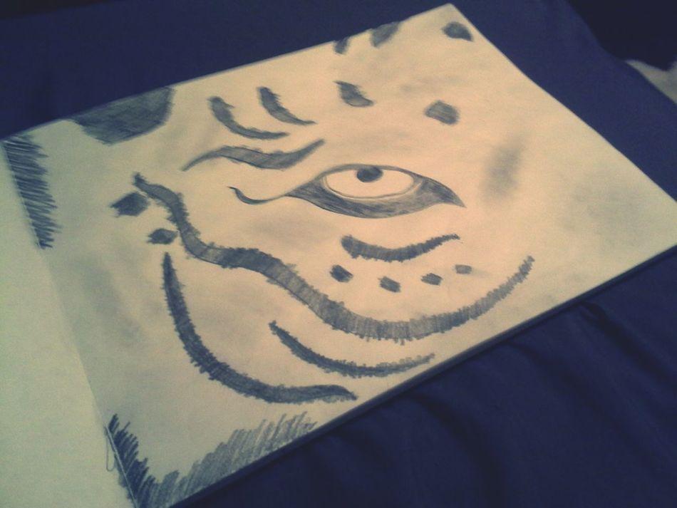 Tigereye My Drawing