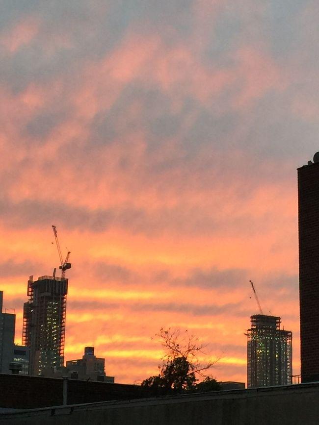 Sunset-Feelings in New York