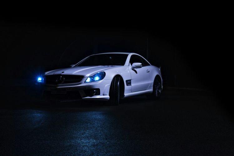 Mercedes Mercedesbenz AMG Photo Shooting Nightshoot