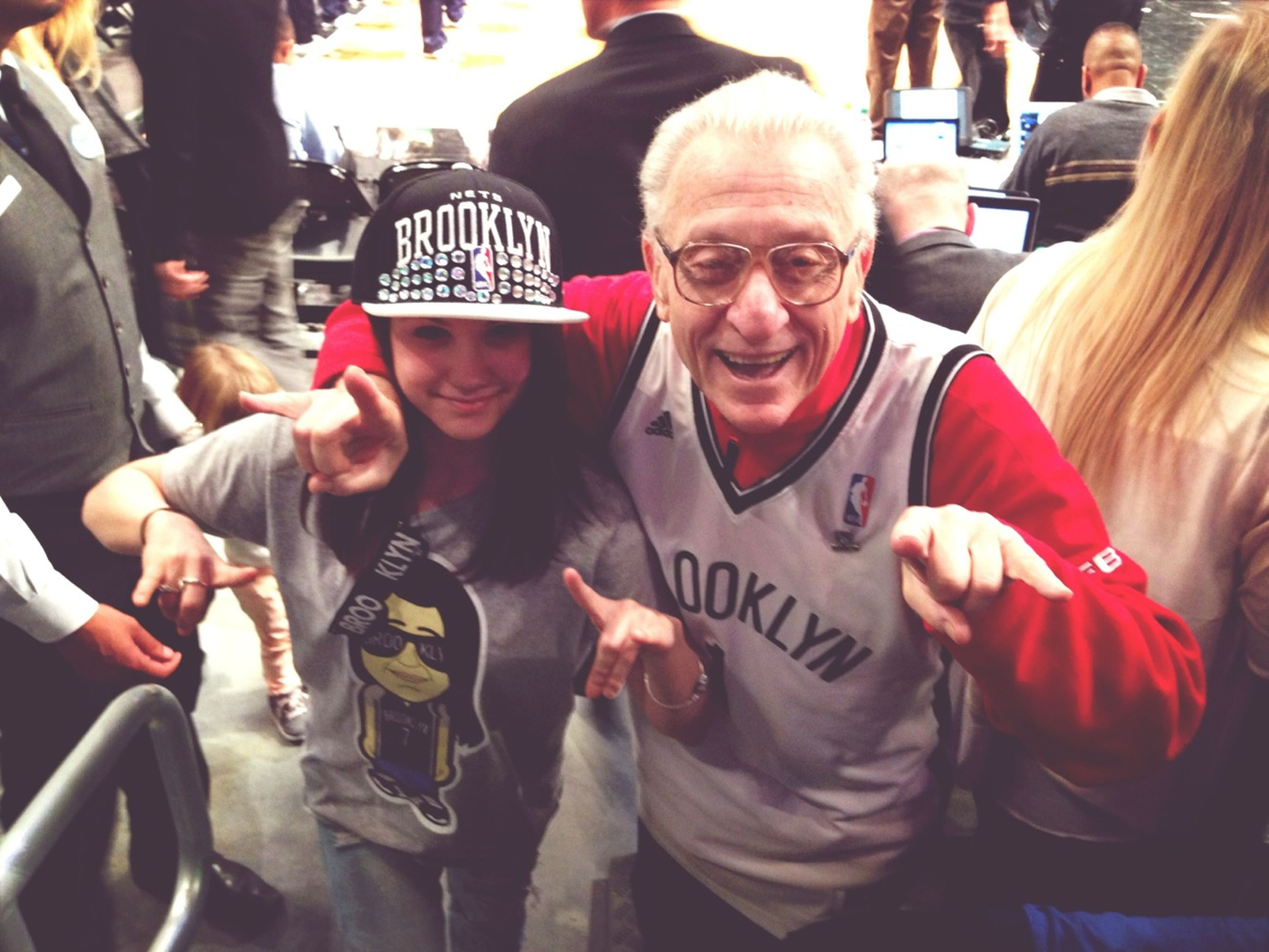 Photo With Mr. Whammy At The #brooklynnets Game At The #barclayscenter !!!