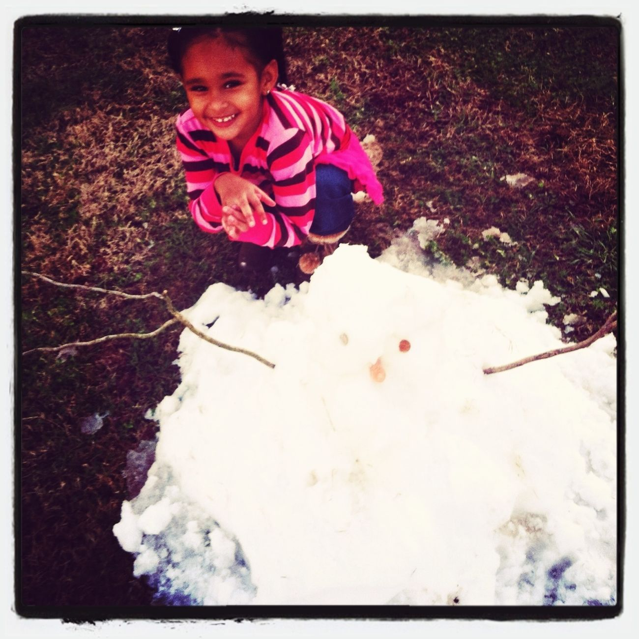 My Sister And The Snowman