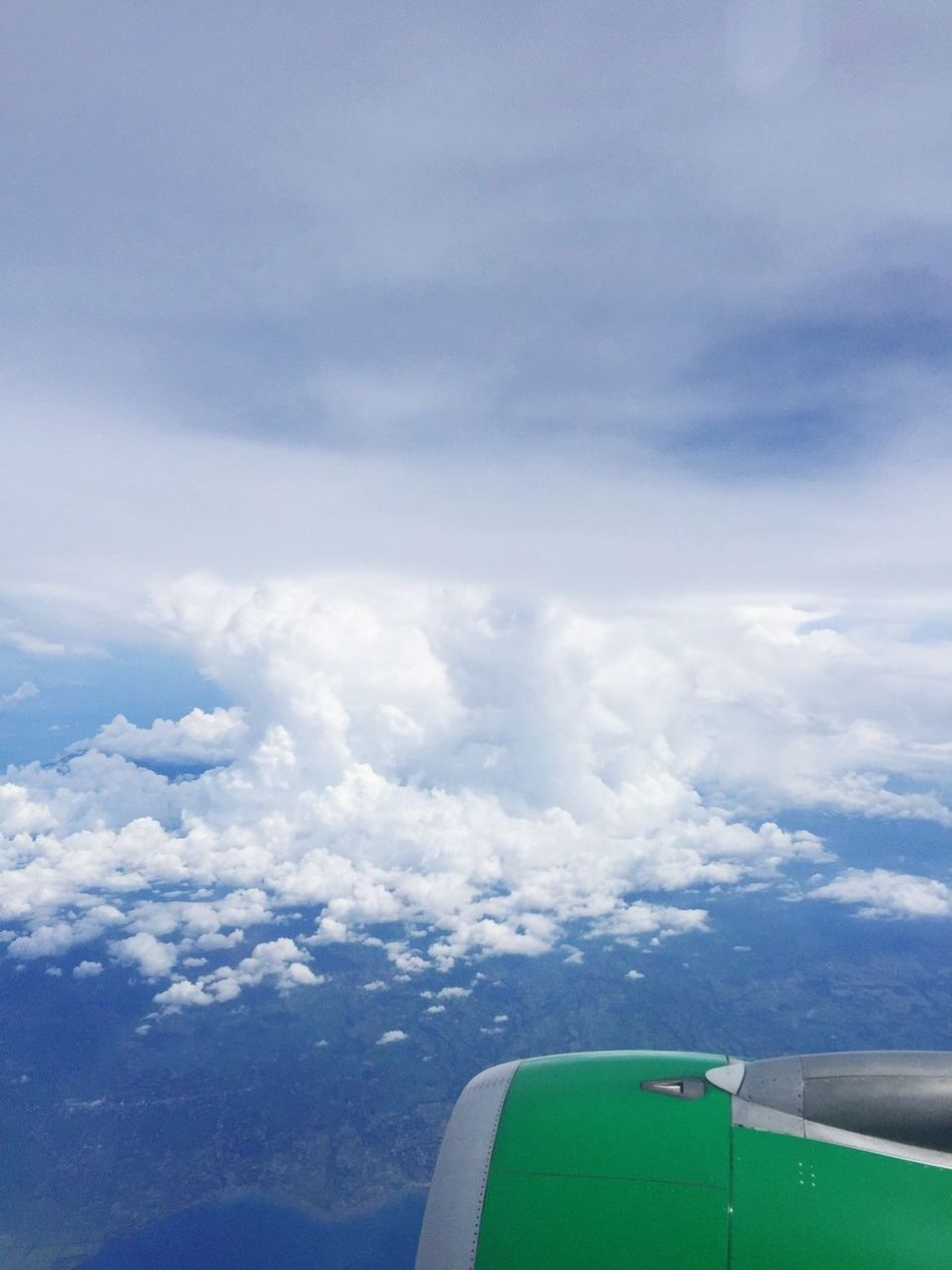 From java to lombok island Hello World Taking Photos Enjoying Life Outdoors INDONESIA IPhoneography Taking Photos Clear Sky Sky From An Airplane Window From My Point Of View