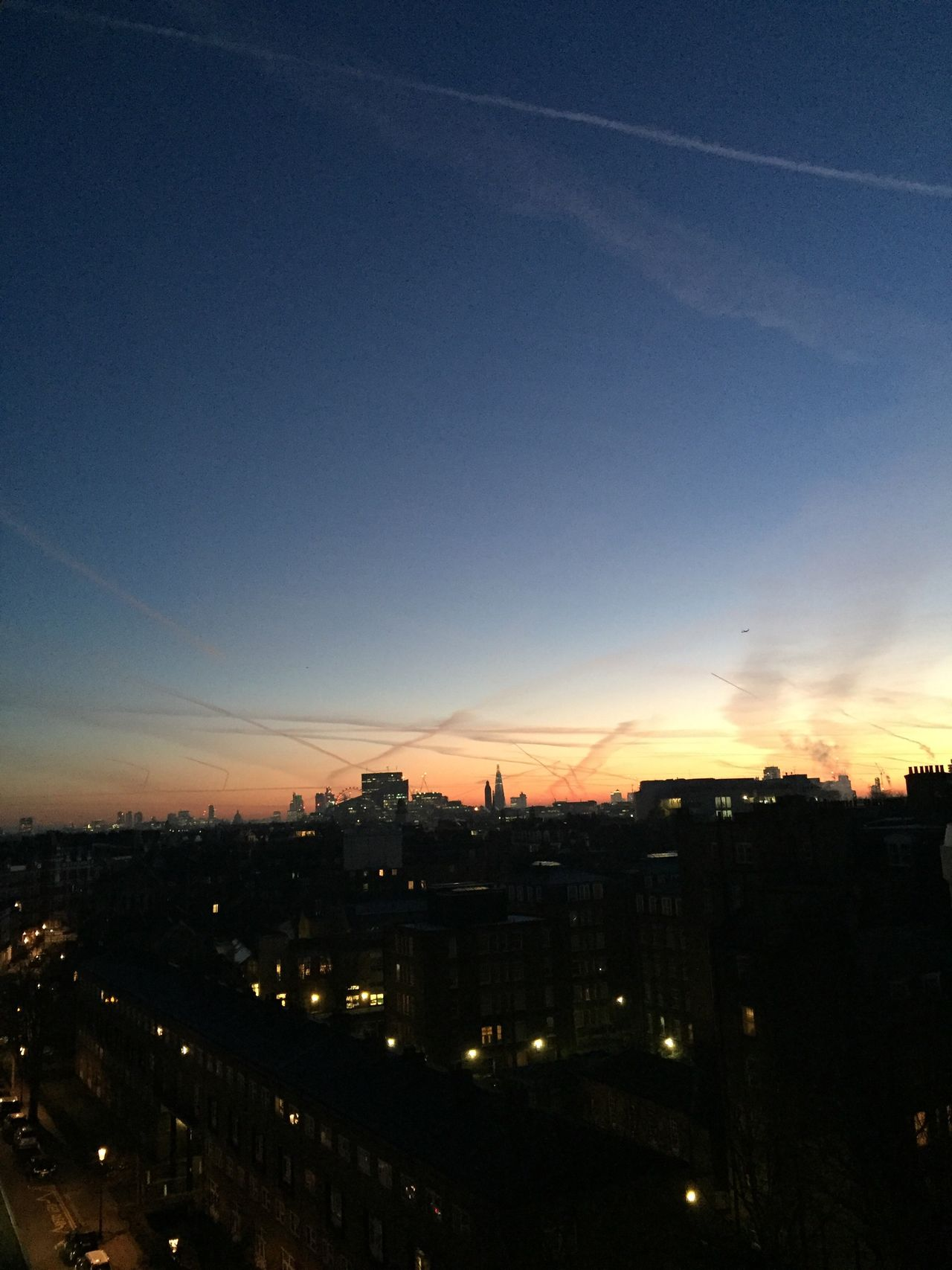 No filter Sunrise Sky Illuminated City Cityscape Outdoors Nature Morningsky Morning View No People
