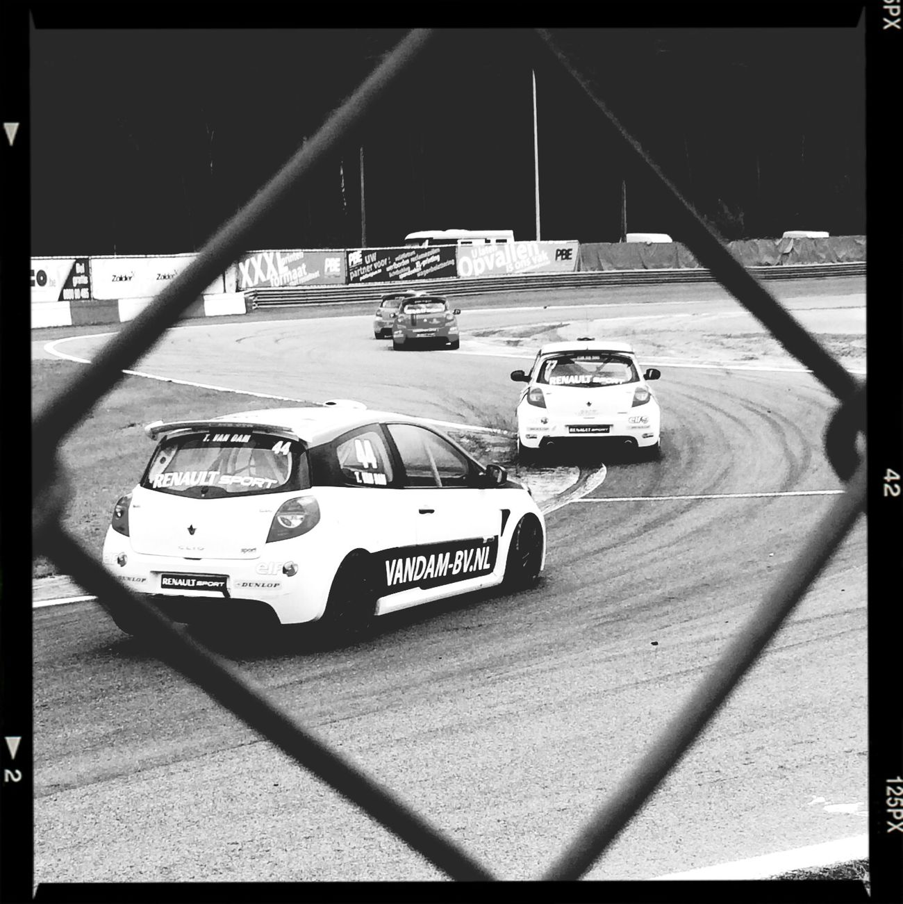 Circuit Zolder Circuit 24HoZ Blackandwhite