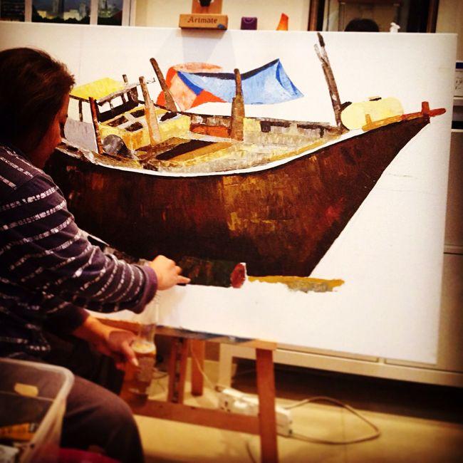 2nd day! Art ArtWork Artist Shirley'sart Filipinaartist Abudhabi UAE Uaeart Pinoyartist Pinoy
