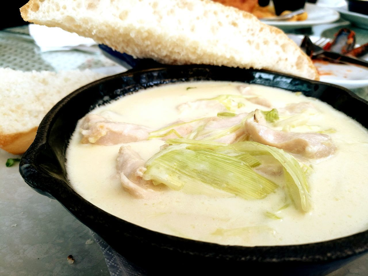 Chicken In A Pot Food And Drink Food Ready-to-eat Close-up Luncheon Lunchtime! Leica_camera Leicalens Huaweip9photos Comfort Food Food And Drink