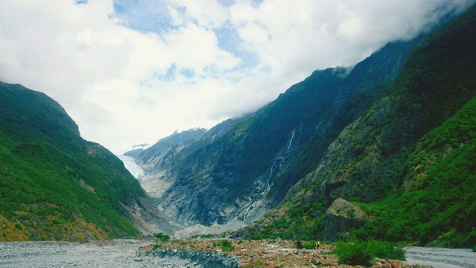 New Zealand Nature Glacier