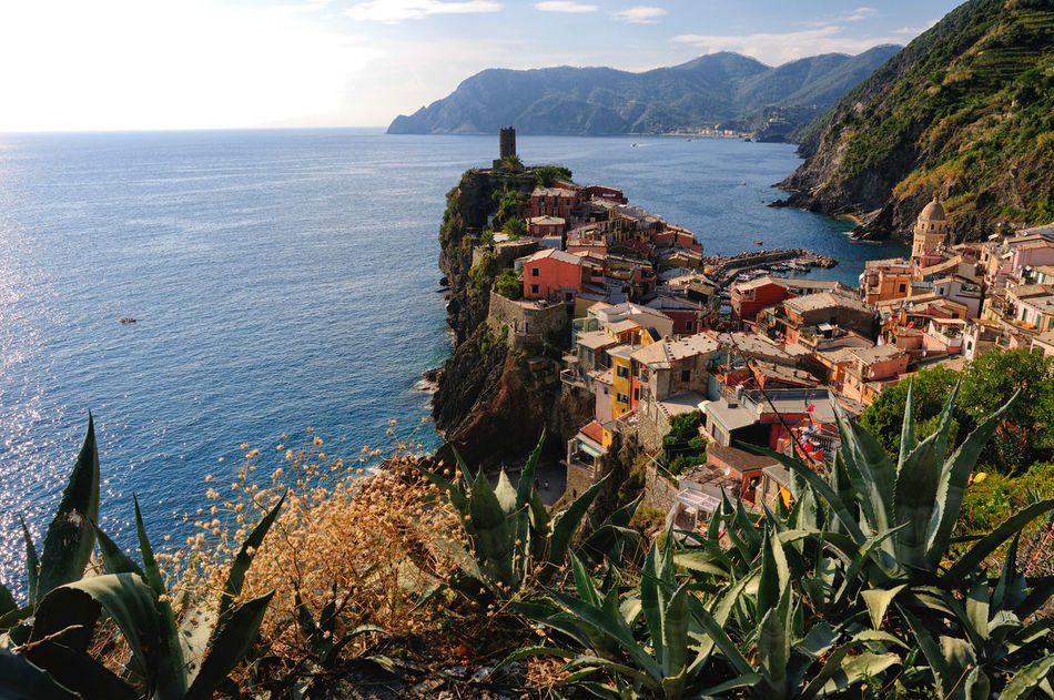 Vernazza, a small town in Liguria, Italy Beach Cinque Terre Famous Landmarks Famous Places Genova Italian Village  Italy Liguria Manarola Small Town Turistic Attractions Vernazza Villages