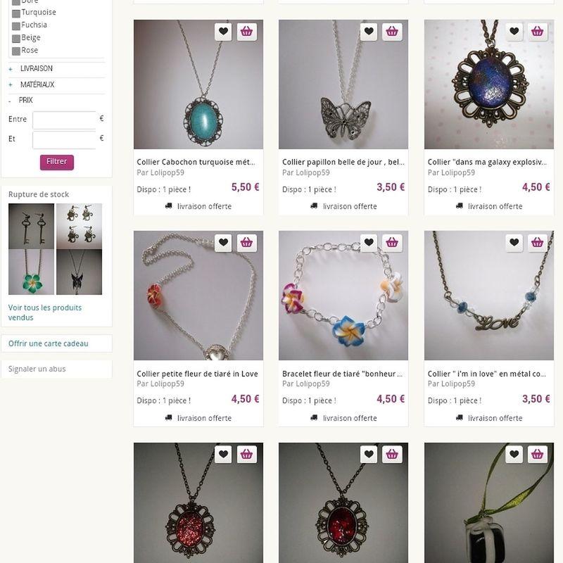 Love♥ Bijoux Bouclesdoreilles Bracelets