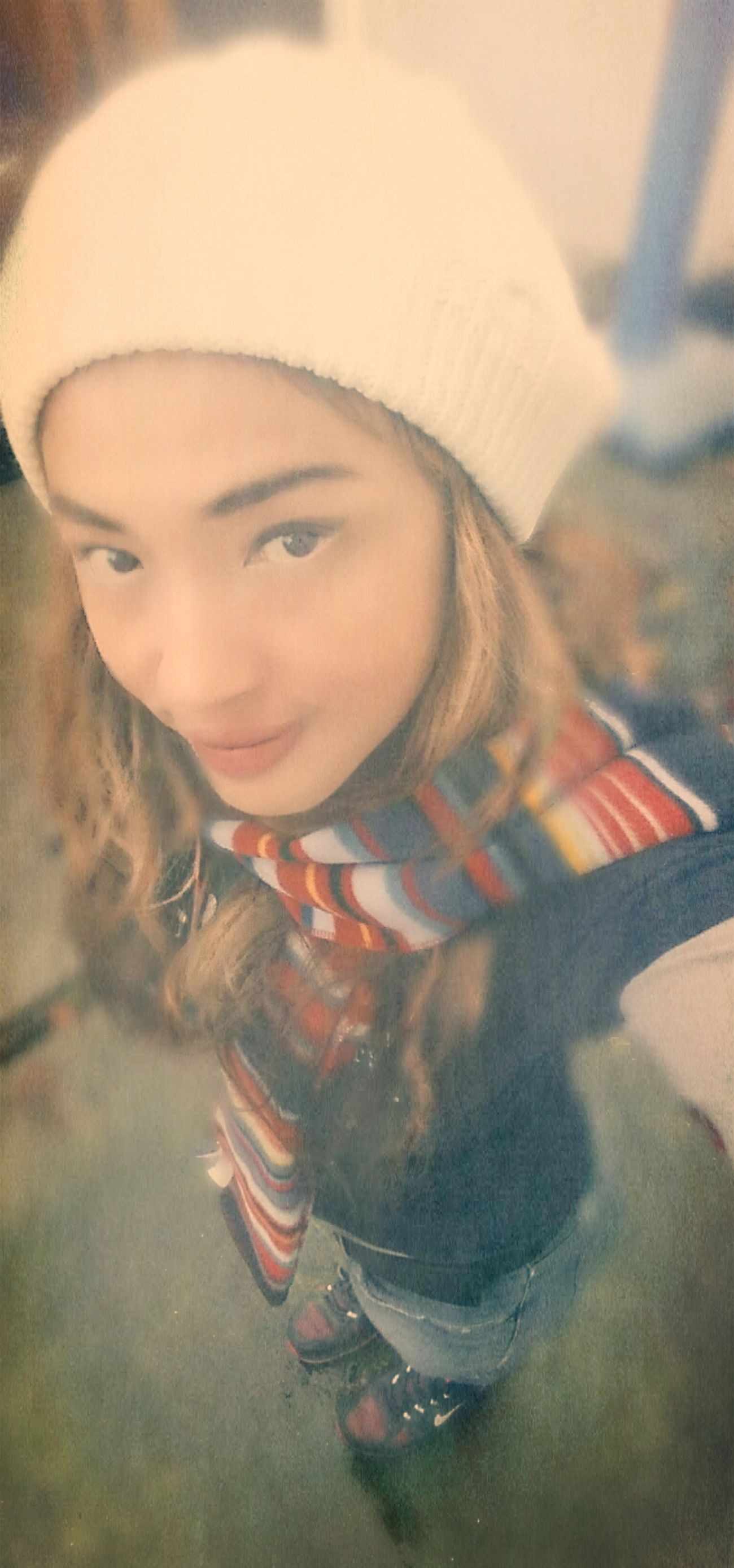 Selfie Selfshot Winter Upshot
