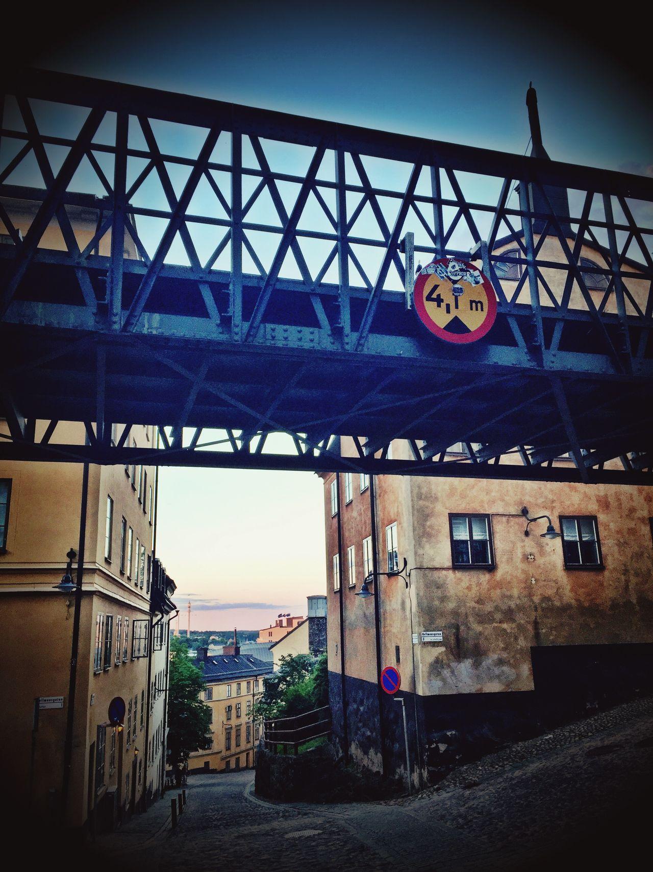 Stockholm Stockholm, Sweden Bridge IPhoneography Steep Hill Downhill