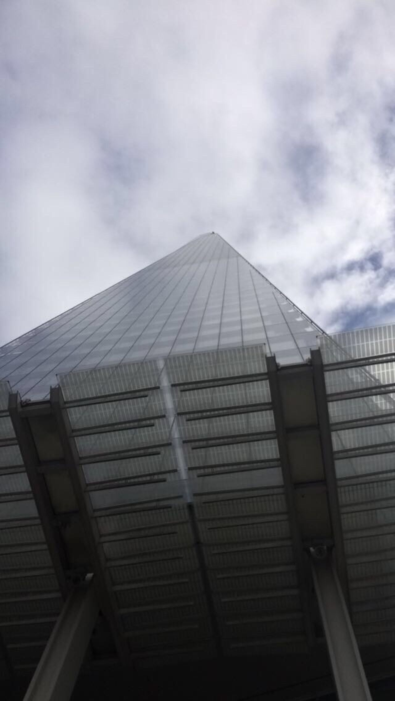 The Shard, London Architecture Built Structure Building Exterior Modern Low Angle View Sky Day No People City Outdoors London England