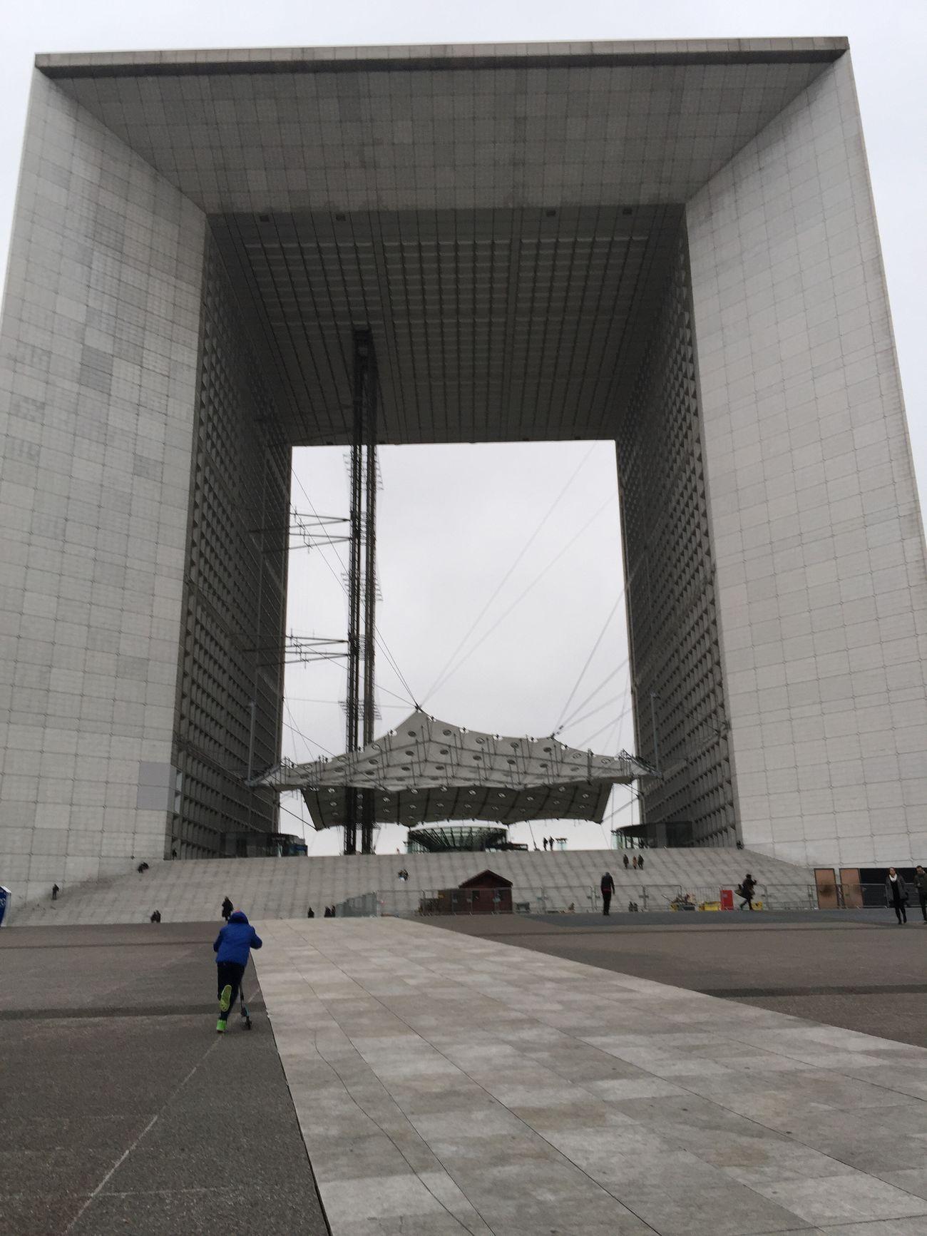 Paris La Defense La Défense La Grande Arche Paris 巴黎