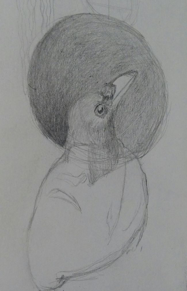 Boceto para un cuadro. First Eyeem Photo Dibujo Boceto Grafite Grafito Sketch
