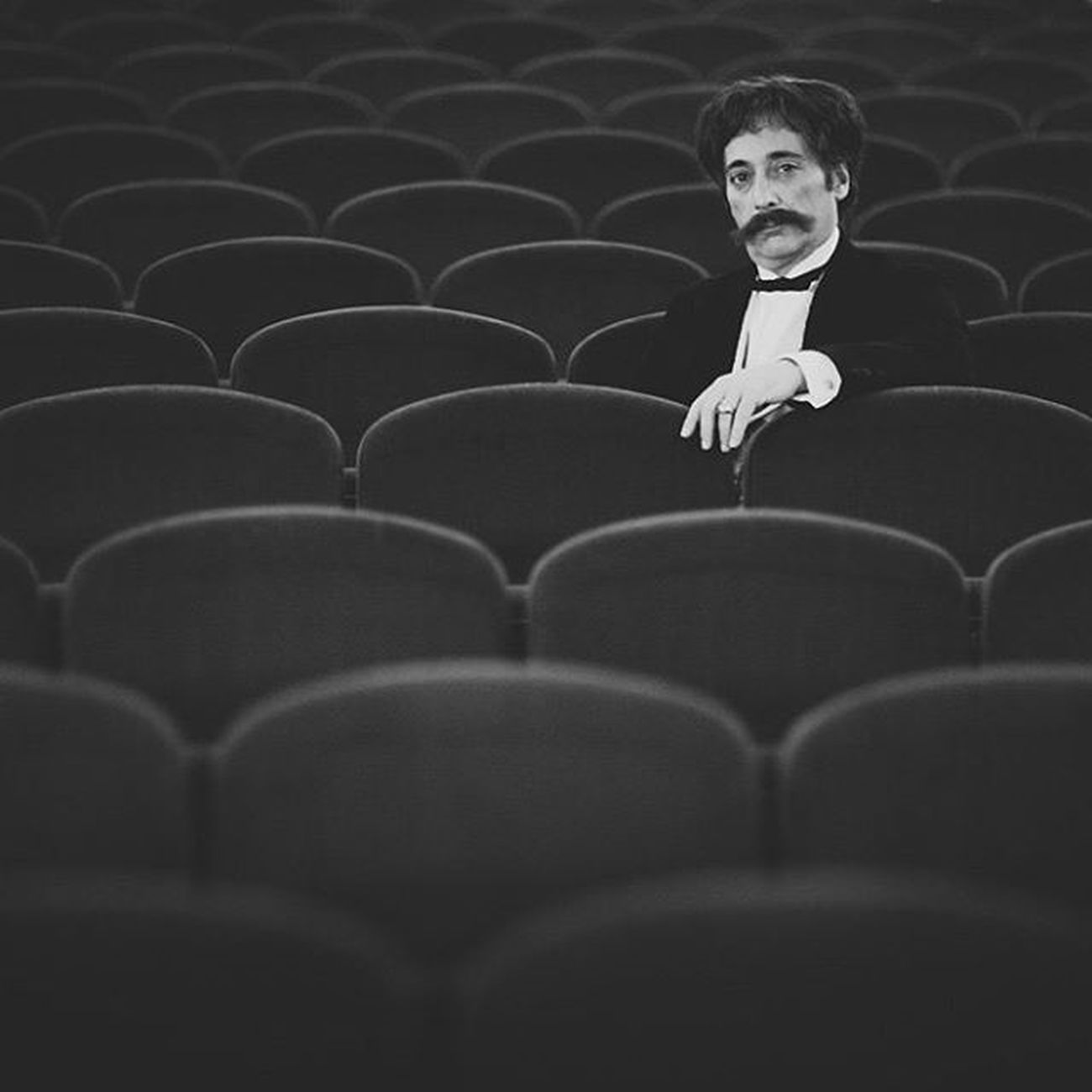 Sarasate Portrait Blackandwhite Photographie  Violin Teatrogayarre Miguelgoni