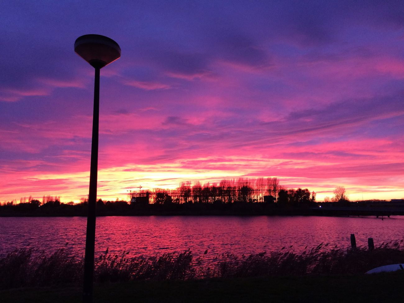 Sunset Sky Cloud - Sky Dusk No People Water Nature Scenics Illuminated Beauty In Nature Dramatic Sky City Silhouette Outdoors Architecture
