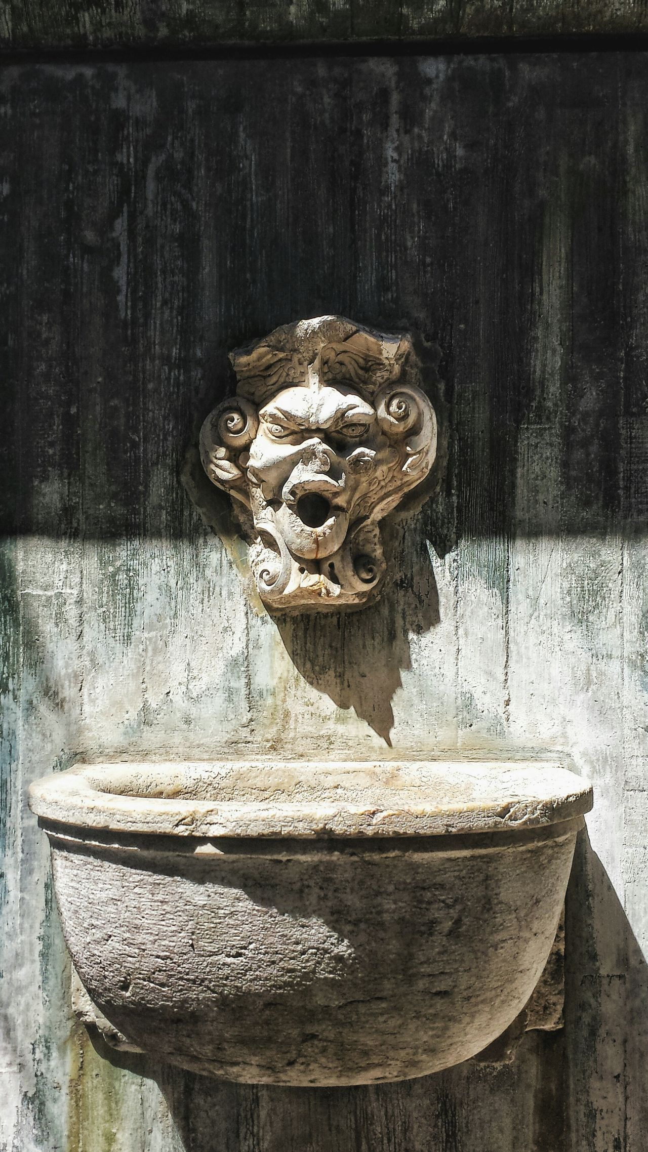 Fountain Sink Gargoyle São Jorge Sao Jorge Castle Lisboa Lisbon Portugal