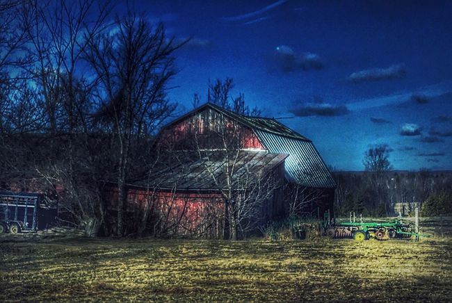 EyeEm Best Shots Streamzoofamily Landscape #Nature #photography Sky And Clouds Rural Scenes Vermont Country Life Countryside Vermontbyvermonters HDR Farm Barn Vermont_scenery