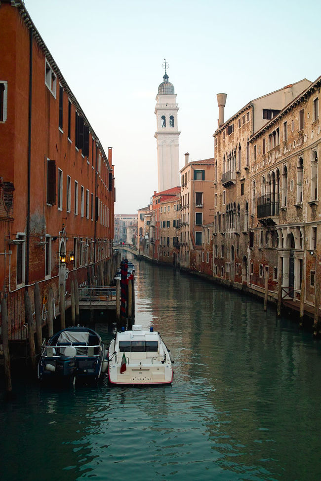 Architecture Channels City Clear Sky Old Town Tower Travel Destinations Travel Photography Venice, Italy Water