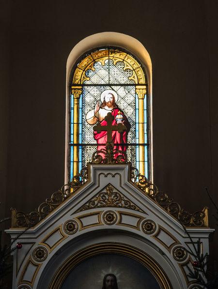 Church Czerwiensk Indoors  Nietków No People Religion Religious Architecture Religious Art Stained Glass Window