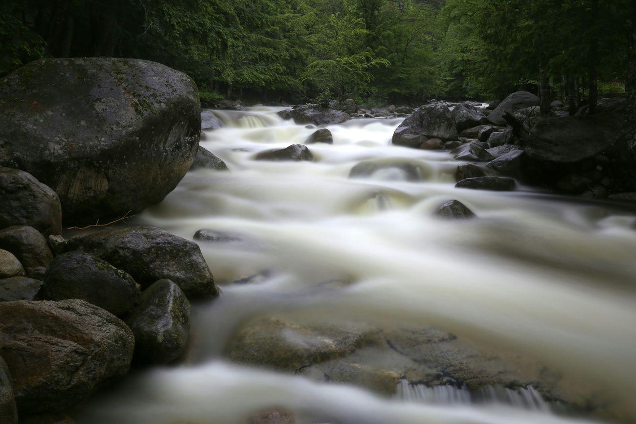 Adirondack Mountains, NY Landscape Long Exposure Nature