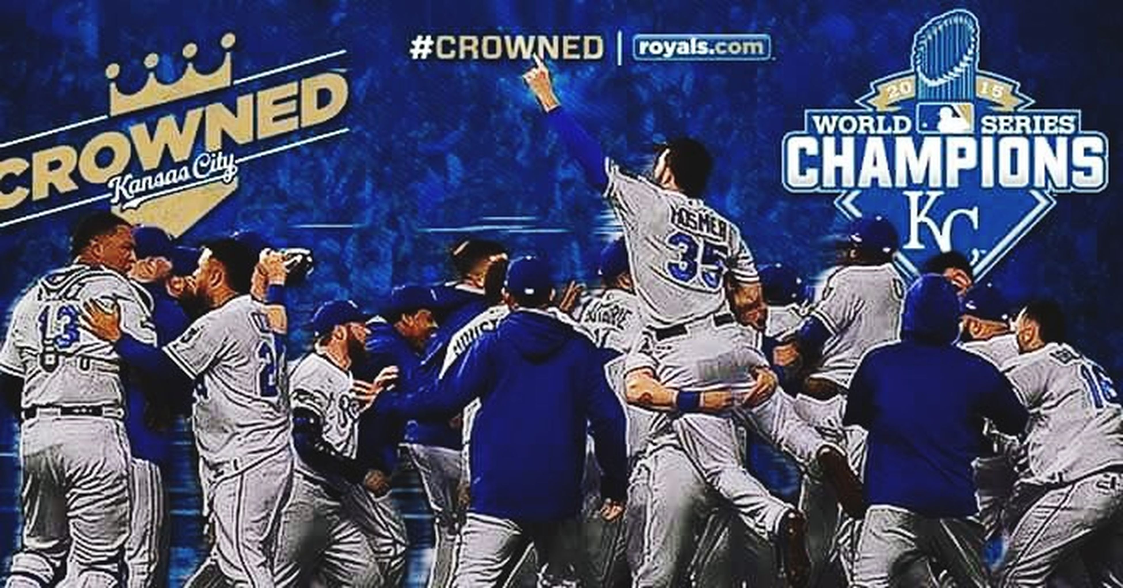 Congrats to the Kansas City Royals on be be the 2015 World Series champs. It's only been 30 yrs. World Series Hangover 2015 World Series Kansas City Royals Forever Royal