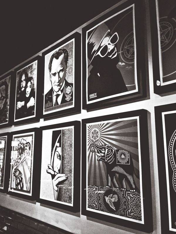 Art Vintage Monochrome Black & White