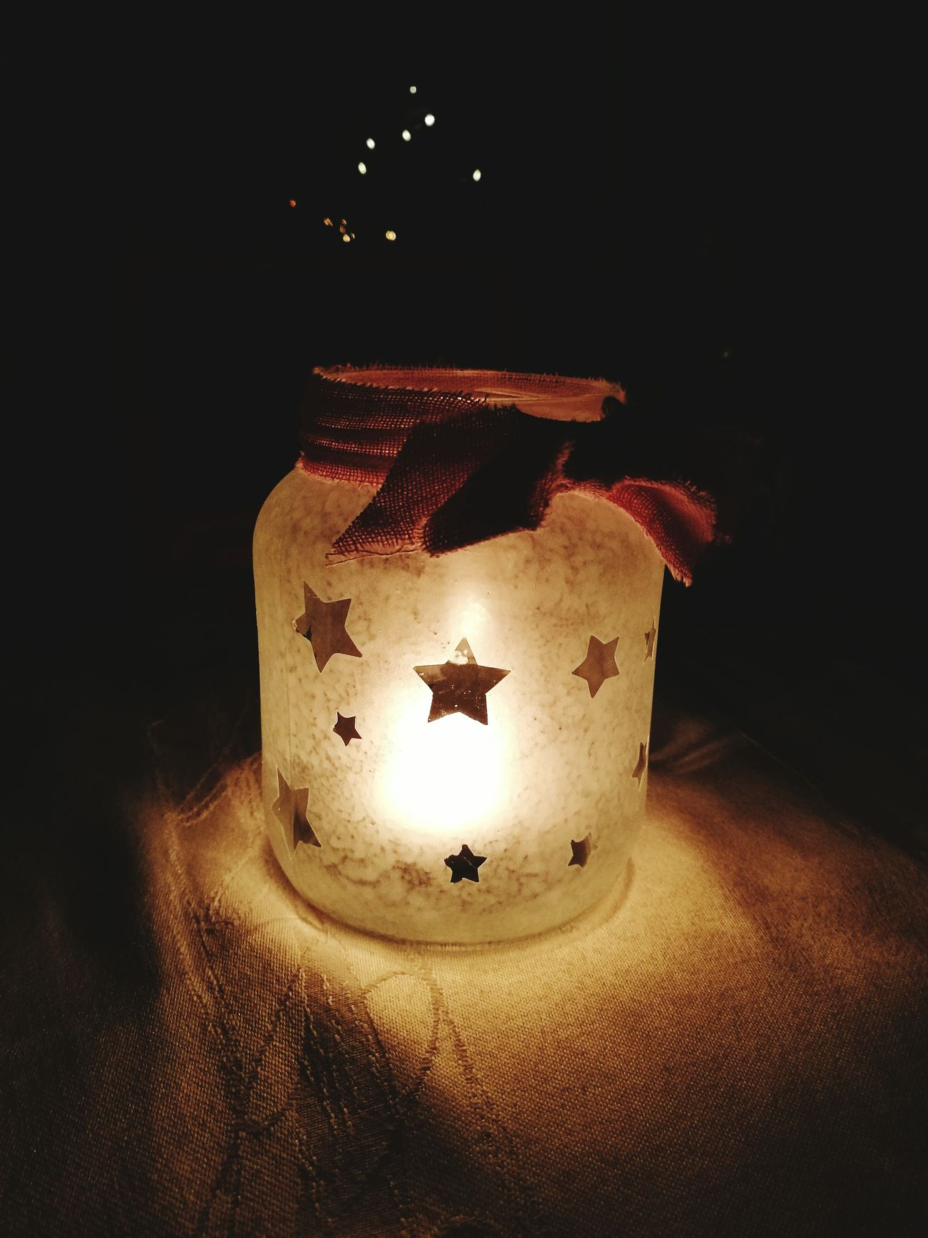 First Eyeem Photo Christmas Lights Star Candle Light