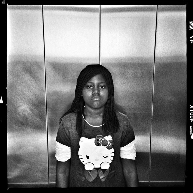 Hipstamatic Blackandwhite Portrait