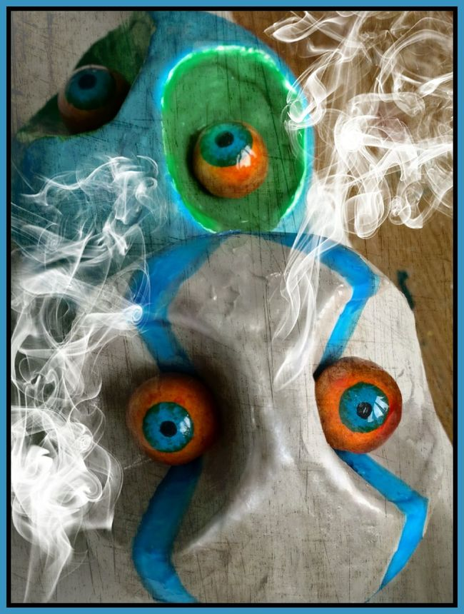 Eyes Sculptures Mixedmedia Sketch Painting Art Silent Garden Eyemeyes