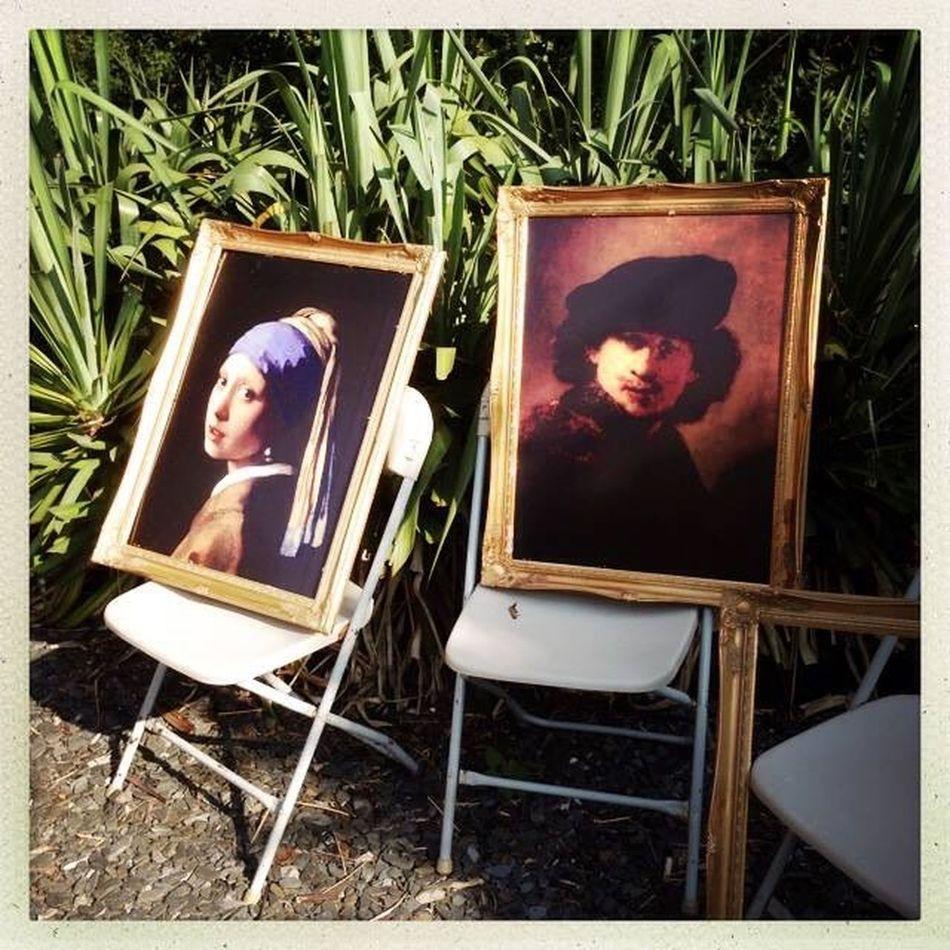 Cornwall Pearl Art Vermeer Chair Painting