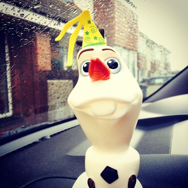 Where's the party? Frozen Olaf