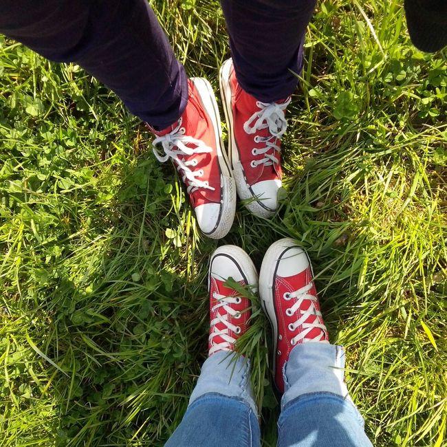 Converse ❤ Trampki Red Rot czerwone