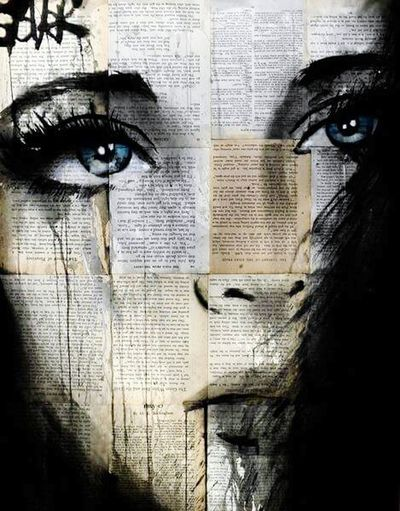 Dontcry Smile Blue Eyes Beauty Art, Drawing, Creativity Goodnight Paradise