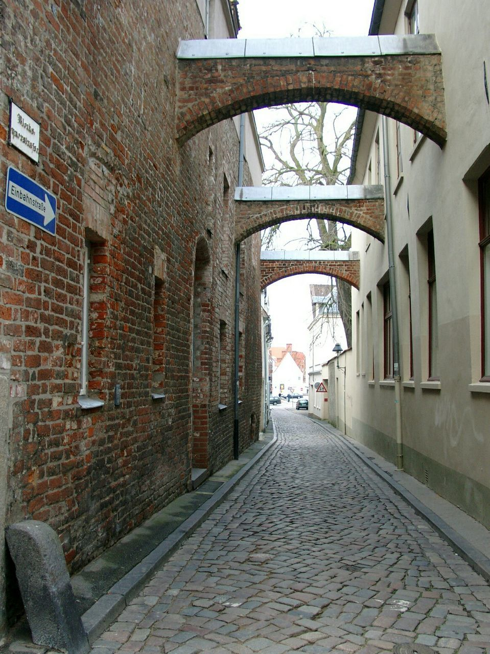 architecture, the way forward, brick wall, built structure, arch, day, no people, building exterior, outdoors, city