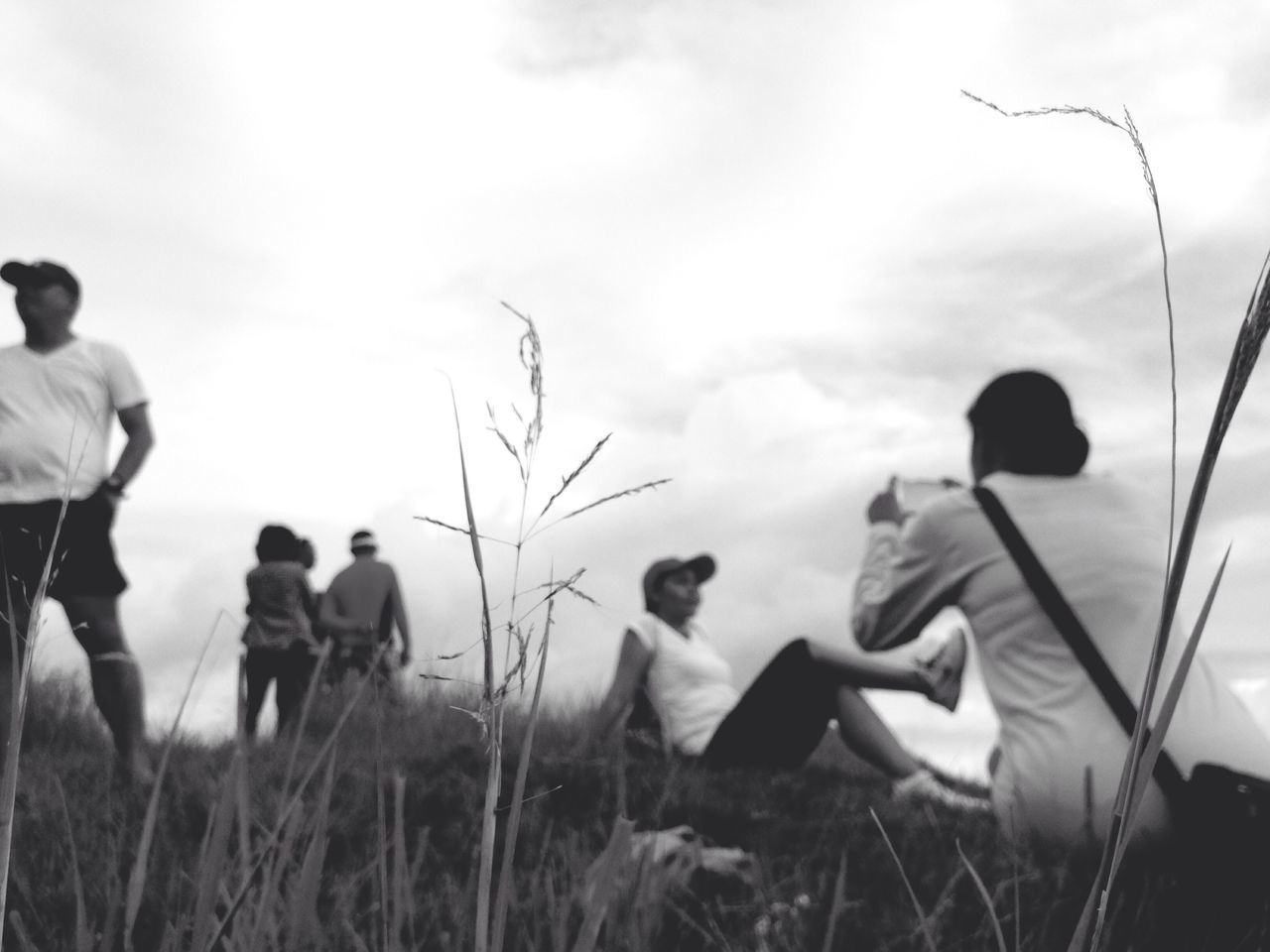 Monochrome Photography Black & White Sky Real People Group Of People Selfie✌ Technology People And Places Outdoors Leisure Activity Enjoying Life Bike Trail Away From The Hustle Scenery Background Defocus Hiking Adventures EyeEm Nature Lover Eyeem Monochrome Eyeem Black And White IPhone IMography Eyeem Philippines Enjoy The New Normal