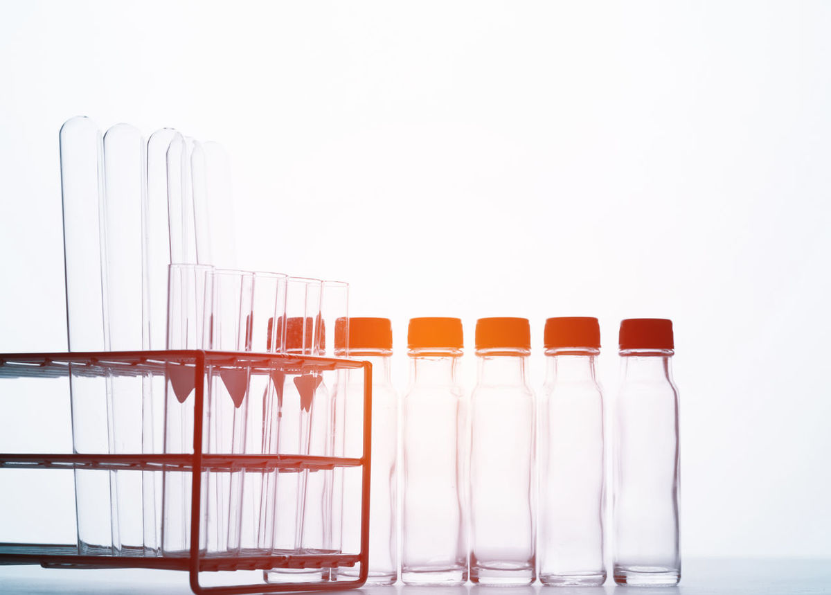 science background Day Healthcare And Medicine In A Row Indoors  No People Science Studio Shot Test Tube Test Tube Rack White Background