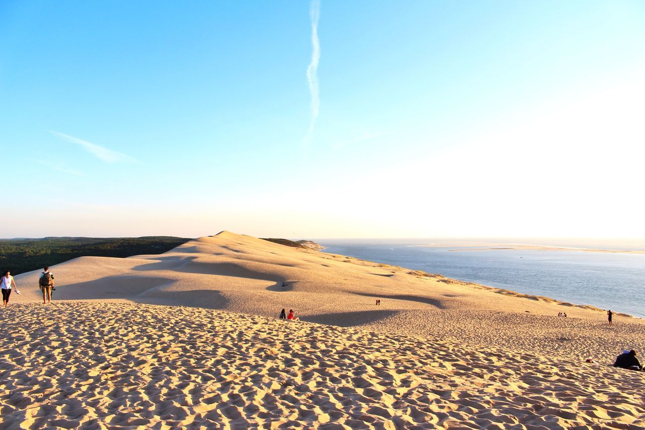 Taking Photos Sunset Landscape Clouds And Sky Enjoying The View Enjoying Life Life Is A Beach The Adventure Handbook Traveling at Dune Du Pyla