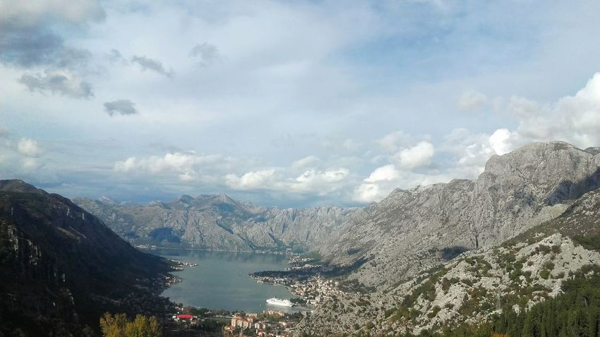 Sky Water Fresh Blue Montenegro Sea Kotor, Montenegro Ship Boat Nautical Vessel City Autumn 2017 Sky And Couds Relaxing Enjoying Life View Mountains Lovcen Nature Outdoors Cloud - Sky Day City Beautiful Beautiful View