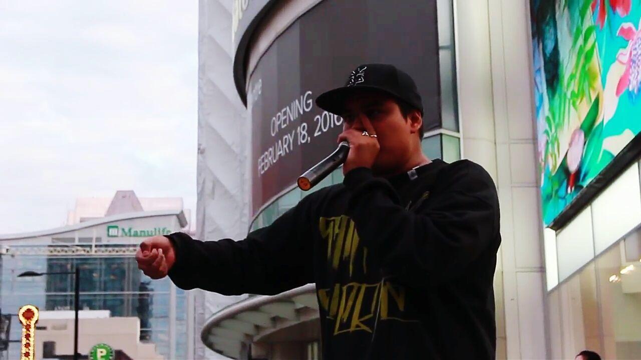 Beatbox showstreet Beatbox Beatboxing Toronto Canada Showstreet Music HipHop SantaSuerte Dropthebass Latin Mexico