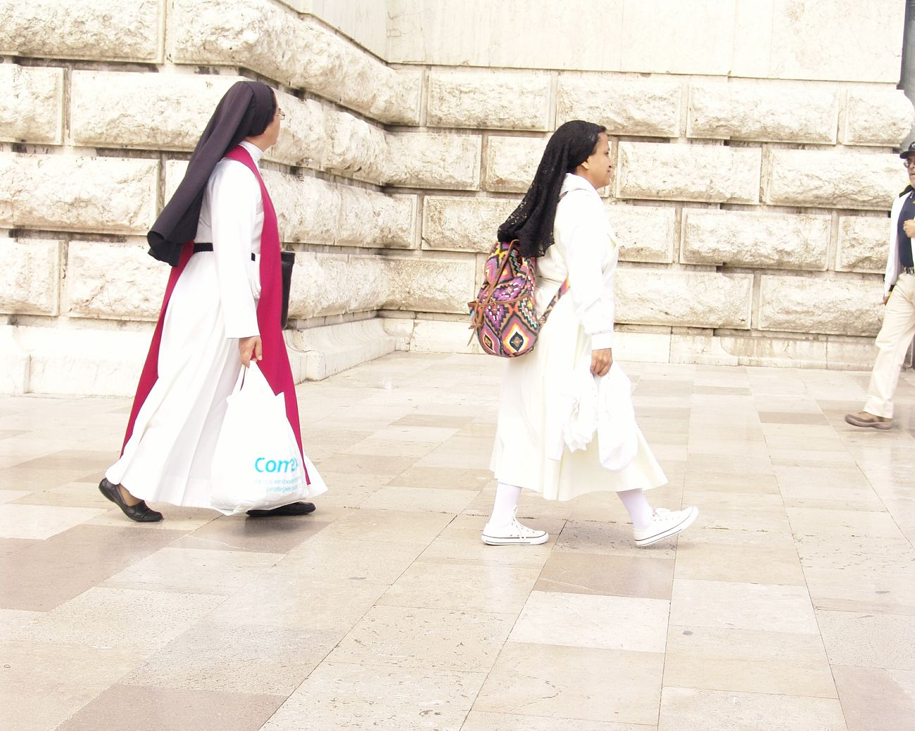 Respect ,style,elegance,Converse My Year My View Religions Casual Day Casualphotography Casual Look Focus On Details Outside Photography Personal Perspective Perspective Photography Lifestyles Nuns Nun